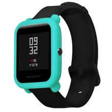 Soft Protection Silicone Full Case Cover For Huami Amazfit Bip Youth Watch