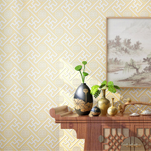 цена на PAYSOTA Modern Chinese Style Wallpaper  Sofa Setting Wall Living Room Bedroom Restaurant Classicism Non-woven Wall Paper