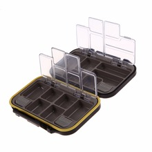 12 Compartments Waterproof Fishing Tackle Storage Box Eco-Friendly Plastic Fishing Lure Bait Tackle Durable Fish Pocket box BAG