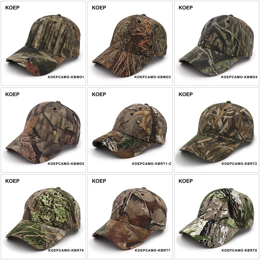 Camouflage Jagd Angeln Sporting Outdoor Baseball Kappe Camo Caps Für Mann Einstellbare Drop Verschiffen Die Neueste Mode Kappen