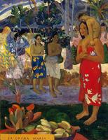 Hail Mary by Paul Gauguin oil Painting Canvas High quality hand painted Landscape Art Reproduction