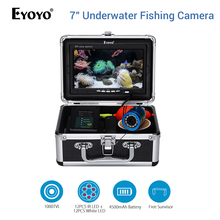 цена на EYOYO 15M Underwater Fishing Camera Fish Finder Infrared White LED Battery Box