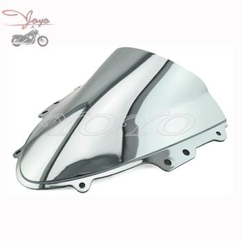 Motocicleta parabrisas de cromo Pantalla de viento para Suzuki GSXR600 750 GSX-R 04-05 K4