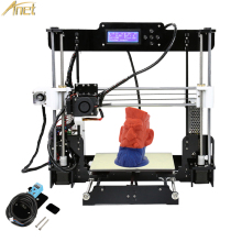 2017 Anet A8 Auto leveling Upgrade 3D Printer kit DIY impressora 3d printer with Aluminum Hotbed Free 10m Filament 8GB SD Card