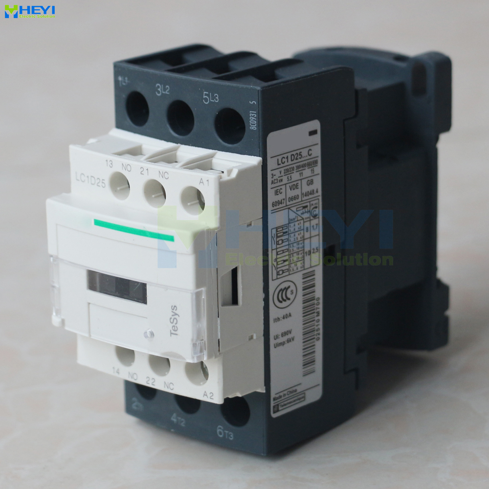 small resolution of lc1 d2511 contacts cheap contactor match for electrical pole 220v 25a 50hz for ac motor 690v insulate class in contactors from home improvement on