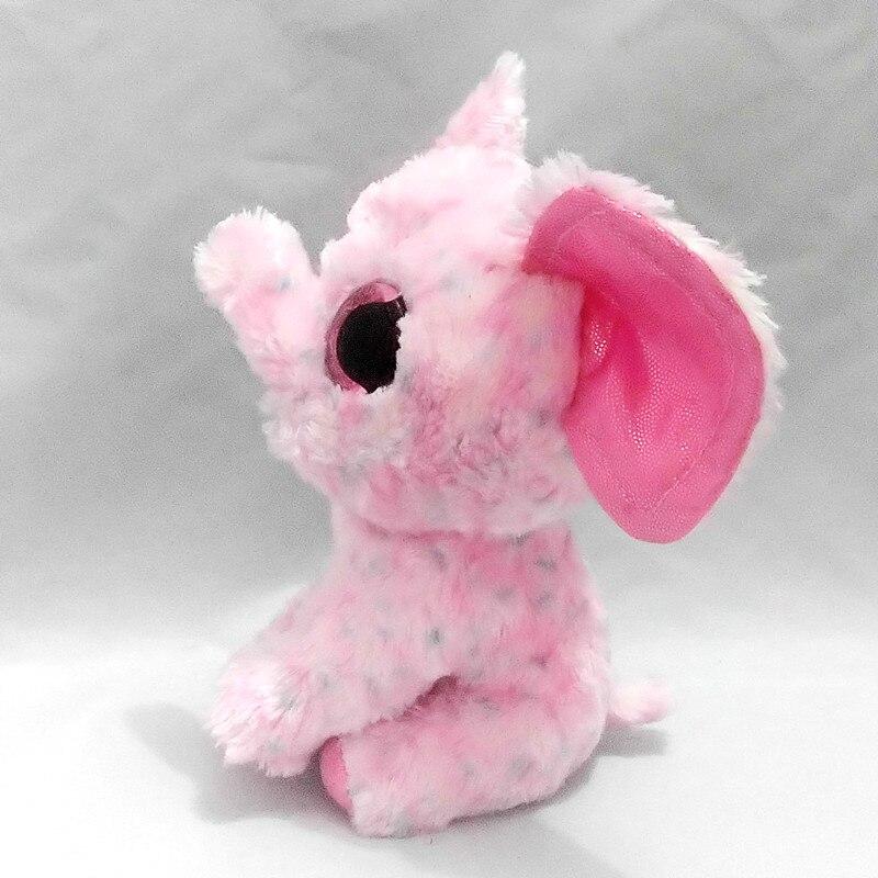 Шапочка Боос сахар плюшевый слон, розовый, регулярные детские плюшевые Коллекционная мягкие игрушки куклы S10