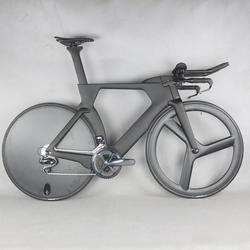 700C kompletny rower TT rower na czas próby węgla włókno węglowe czarny kolor malowanie ramki z DI2 R8060 grupa sprzętowa|Rower|   -
