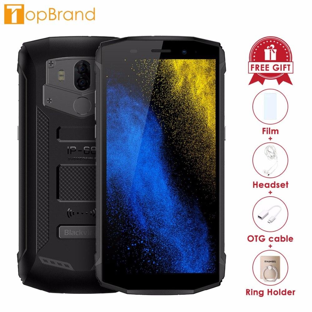 Blackview BV5800 Smartphone 5.5 pouces écran 2 GB RAM 16 GB ROM Android 8.1 MTK6739 Quad Core 1.5 GHz double SIM 13MP déverrouiller 4G OTG