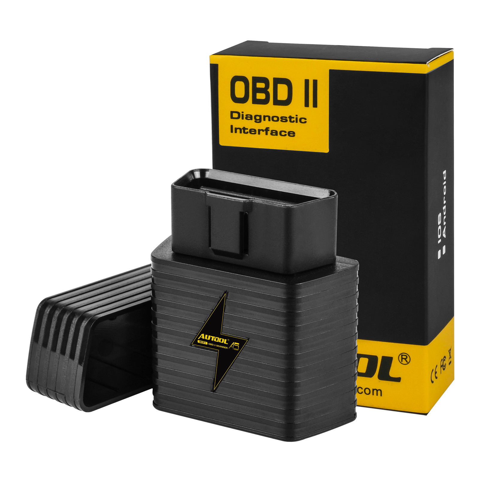Bluetooth OBDII Scanner OBDII Wireless Car Code Reader for Android and iOS Bluetooth Diagnostic OBDII Reader//Scanner Auto Detect for Car