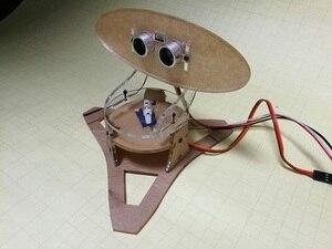 Image 3 - لتقوم بها بنفسك الاكريليك مايكرو بالموجات فوق الصوتية رادار Duino تطبيق للتعليم التعلم 400 مللي متر كشف المسافة بالموجات فوق الصوتية جهاز الإرسال والاستقبال
