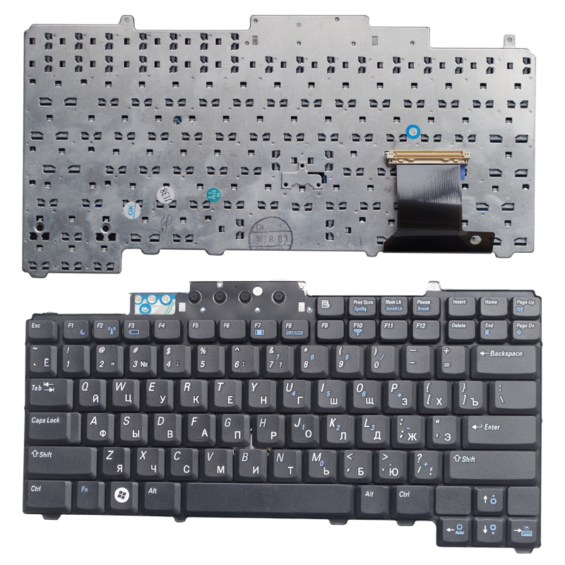 Ernstig Ru Black Nieuwe Laptop Toetsenbord Voor Dell D620 D630 D631 D820 M65 D830 Pp18l Zonder Wijzend Russische Lange Levensduur