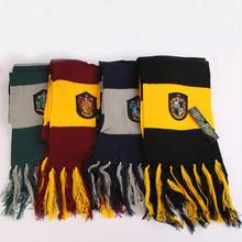 Boys accessories Scarf Gryffindor/Hufflepuff/Ravenclaw/Slytherin Scarves Wide