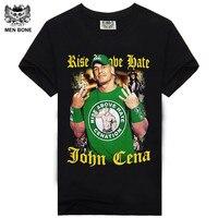 2014 Print T Shirt 3D Wrestlers Shirt Man T Shirts Tshirt Horrible Print Rock T Shirt