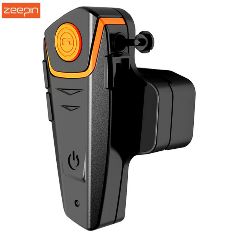 BT-S2 1000M Motorcycle Bluetooth Headset Intercom Interphone HeadPhone Speaker With FM Radio+ EU Plug For Cell Phone