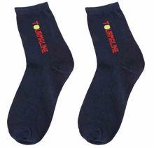 one pair Nano Tourmaline Deodorant Antibacterial man cotton Socks