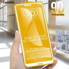 Cqqdoq 9D Screen Protector For Huawei P20 pro Lite Full Protection Tempered Glass Mate 20X 10 lite plus 9 Film