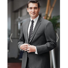 classic suits mid gray for 2017 formal wear custom made suit men groom wedding suit