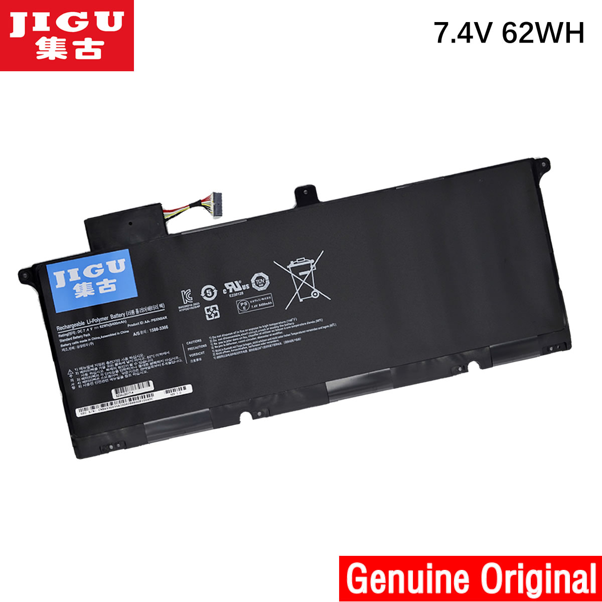 JIGU AA-PBXN8AR batterie de remplacement pour ordinateur portable Pour Samsung 900X4 900X46 900X4B-A01DE 900X4B-A01FR 900X4B-A03 900X4C-A01 NP900X4