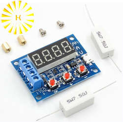 ZB2L3 литий-ионный свинцово-кислотный батарея ёмкость измеритель заряда тестер анализатор