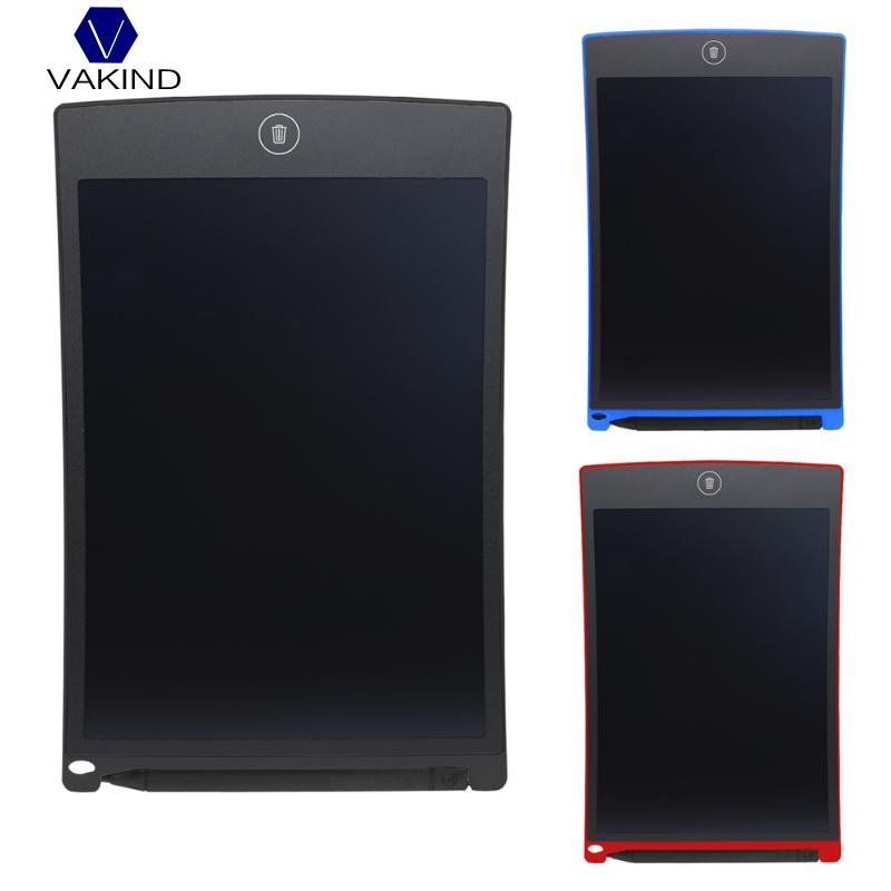 VAKIND Portable 8.5 Inch LCD Writing Tablet Digital Drawing Tablet Mini Writing Message Board Handwriting Pads 220 X 143 X 6mm 8 5 inch lcd writing tablet electronic small blackboard with pen portable mini writing drawing tablet board built in battery