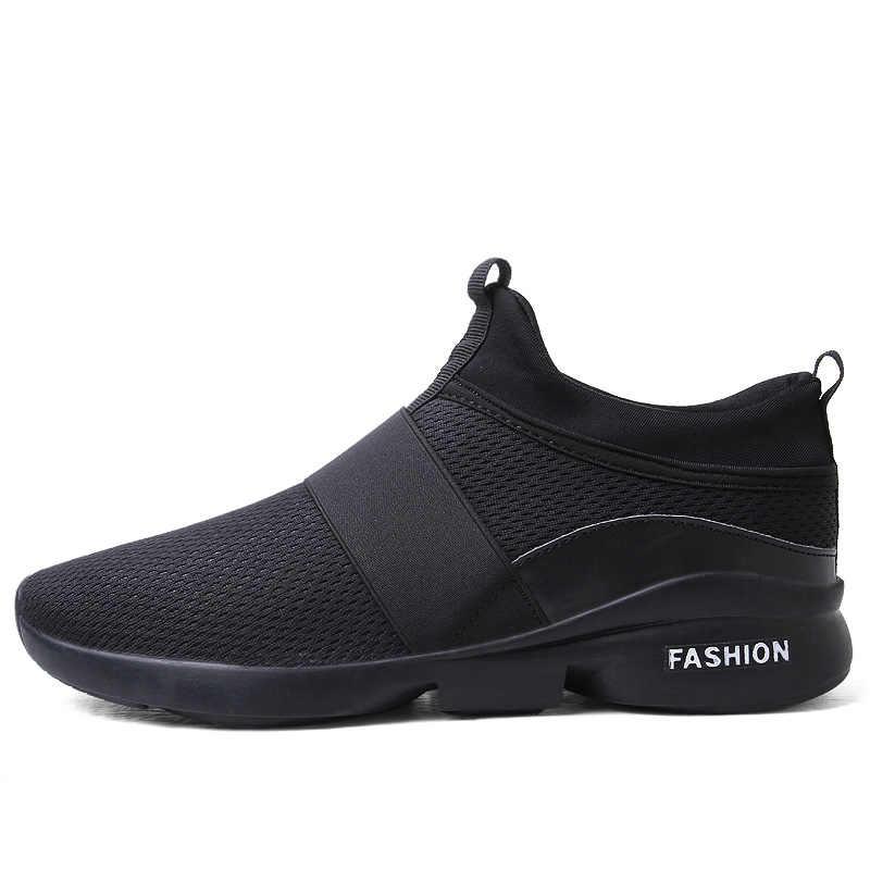 Giày Casual Nam Size Lớn 46 Thoáng Khí Giày Thời Trang Xuân Hè Thoải Mái Nam Zapatos chống Trơn Trượt Krasovki Chaussure