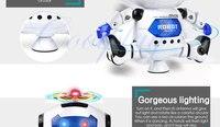 coolplay cp99444-2 смарт-пространство танец робота электронный прогулки игрушки с музыкой света для детей подарок astronaut игрушка для ребенка