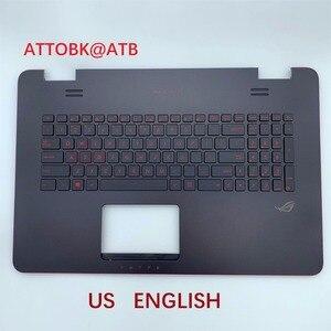 Image 2 - RU 미국 LA AR 표준 노트북 키보드 ASUS N751 N751J G771 G771JW GL771JM GL771JW GL771 커버 c가있는 백라이트 포함