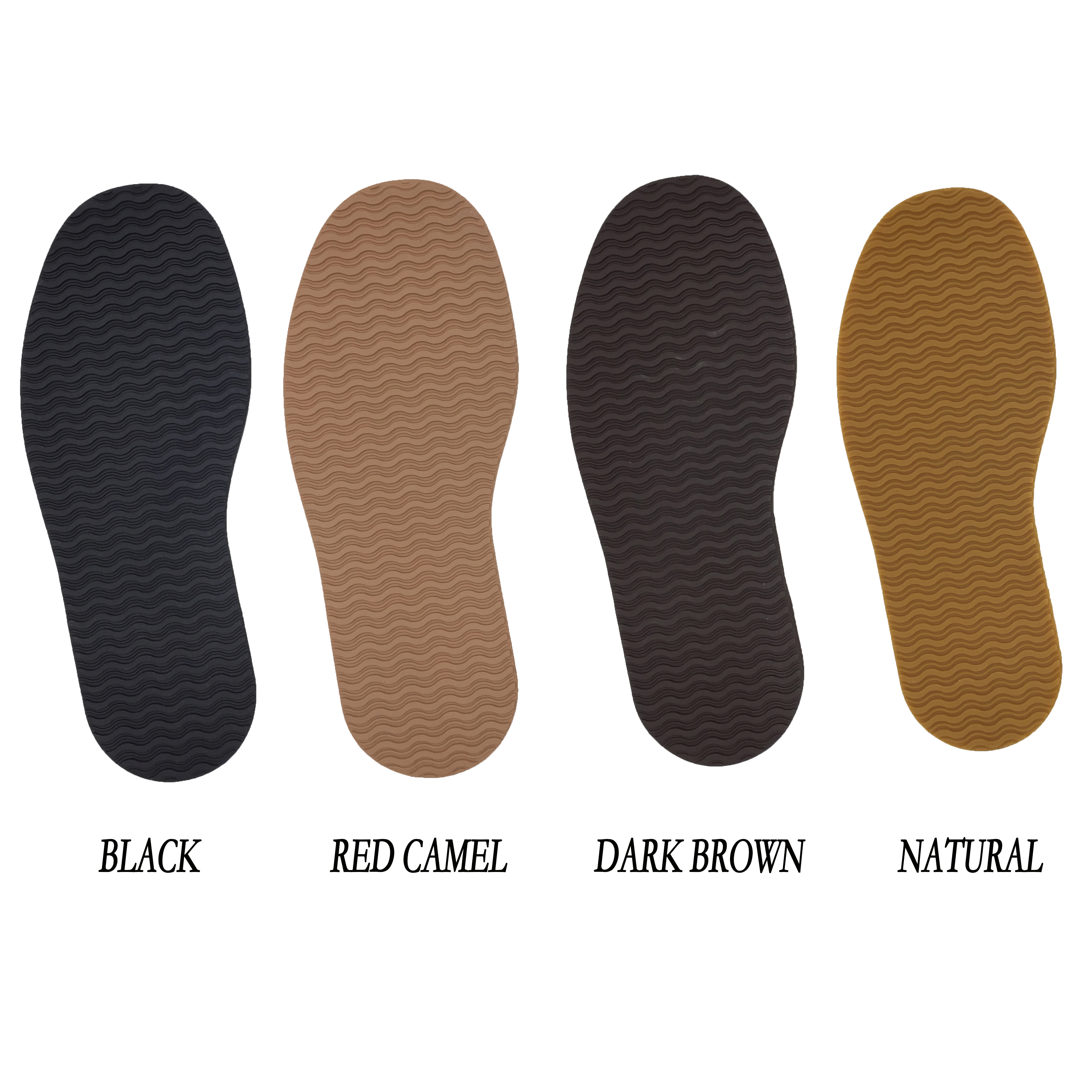 KANEIJI Rubber Full Sole Repair Shoes , Tire Grain Pattern , The Wave Pattern, Repair Worker Shoes Outsole,4mm Thicker