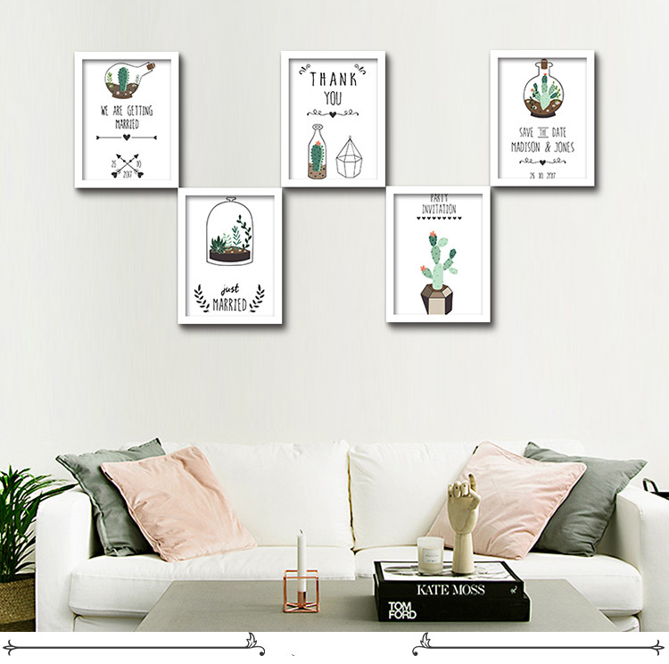 Cactus Wall Art compare prices on cactus wall art- online shopping/buy low price