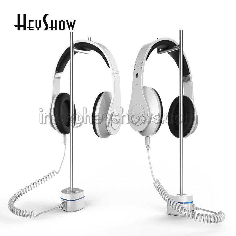 Beats Headset Security Stand EDIFIER Headphone Anti Theft Holder EarPhone Burglar Alarm JBL Earpiece Display Bracket