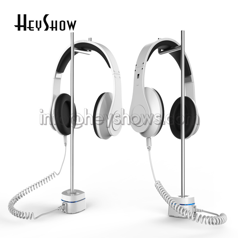 Beats Headset Security Stand EDIFIER Headphone Anti Theft Holder Sony EarPhone Burglar Alarm JBL Earpiece Display Bracket