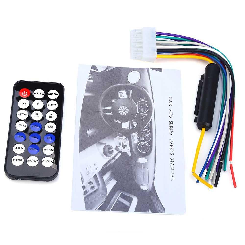 Ollymurs автомобильное FM радио 12 V Bluetooth V2.0 съемная передняя Панель Авто аудио стерео SD MP3 плейер AUX USB вызова в режиме свободных рук XQ-50
