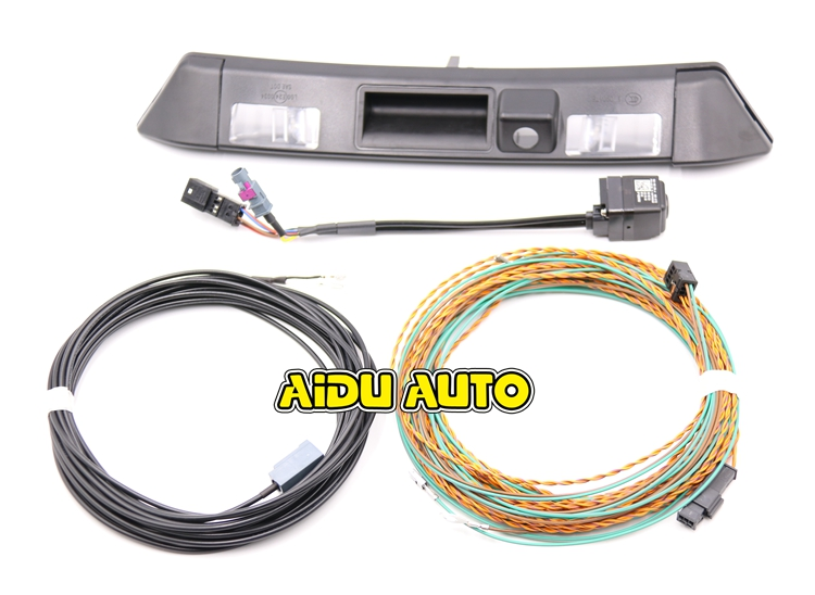 for-audi-new-tt-8s-rear-view-camera-with-highline-guidance-line-wiring-harness-8s0-827-574-a-8s0827574a