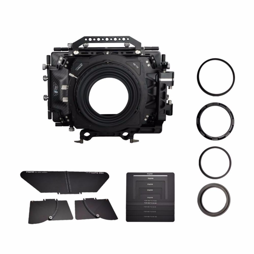 Tilta Pro MB-T06 6*6 Carbon Fiber Matte box MB for 19mm rail system support rig HDV Cine Rig follow focus цена