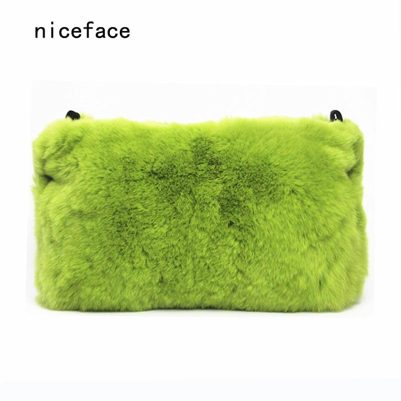 2017 brand fashion wallet woman evening bag elegant fur Solid wild handbag luxury women shoulder bag party banquet Casual Clutch