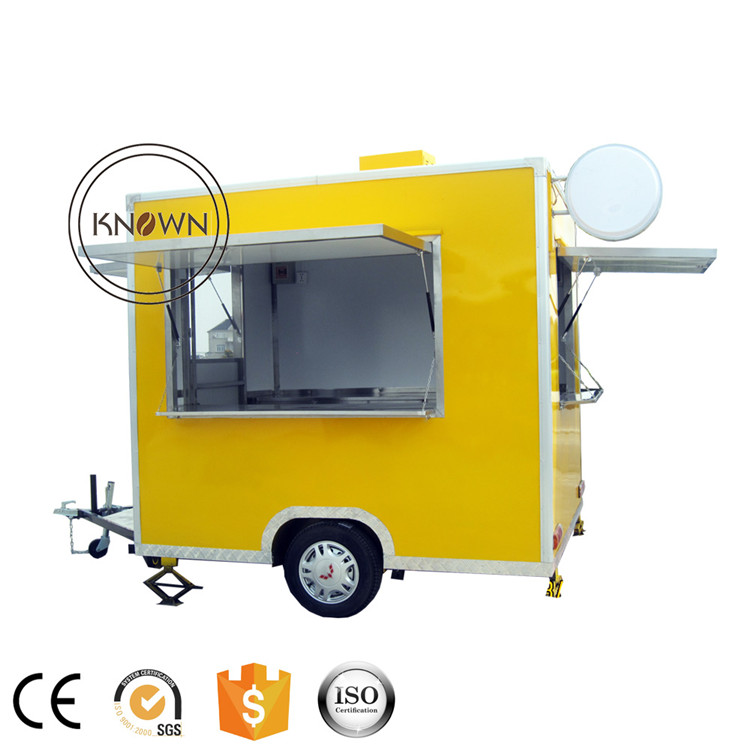 FS250 Factory Price Outdoor Ice Cream Mobile Street Fast Food Cart for hot dog