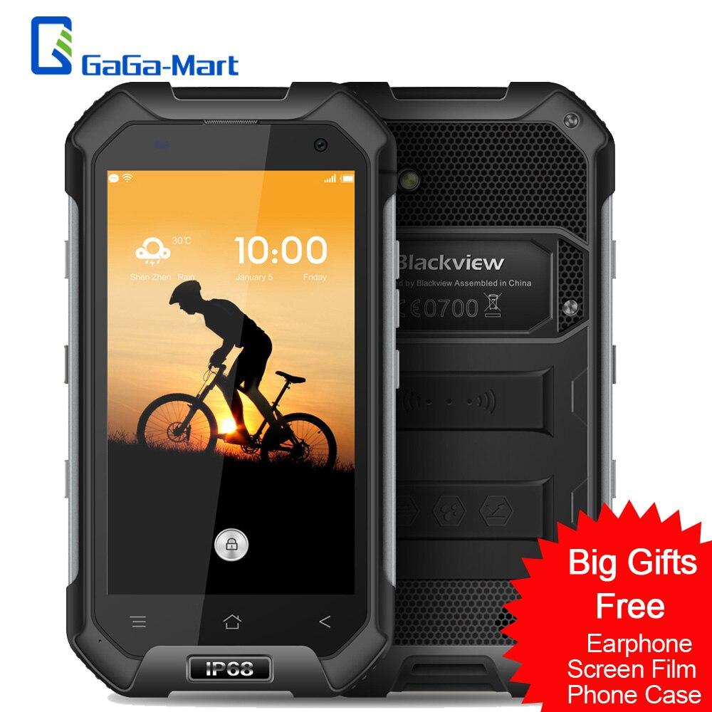 """bilder für 4500 mAh Blackview BV6000 4G Handy Android 7.0 MT6755 octa-core 2,0 GHz 3 GB + 32 GB 13.0MP IP68 Wasserdicht 4,7 """"HD Smartphone"""