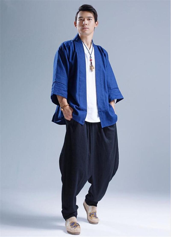 Pantalon Shenzhen noir ample