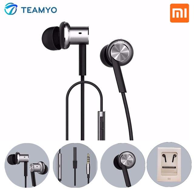 Original Xiaomi Hybrid | Pro HD Earphone In-Ear Mi Piston HiFi Headset With Mic Music Player Sound Quality mi fones de ouvido