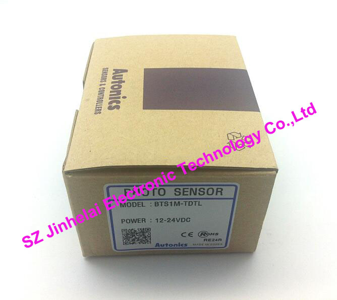 New and original  BTS1M-TDTL  Autonics  PHOTO SENSOR  Photoelectric switch  DC12-24V  (Product need 4 weeks delivery time) thyssen parts leveling sensor yg 39g1k door zone switch leveling photoelectric sensors