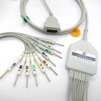 MARQUETTE cable ecg 10 leads ekg cable