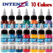 Permanent makeup pigment color tattoo ink kit 10 colors micropigment makeup bloodline tattoo pigment set 30ML gray c bloodline
