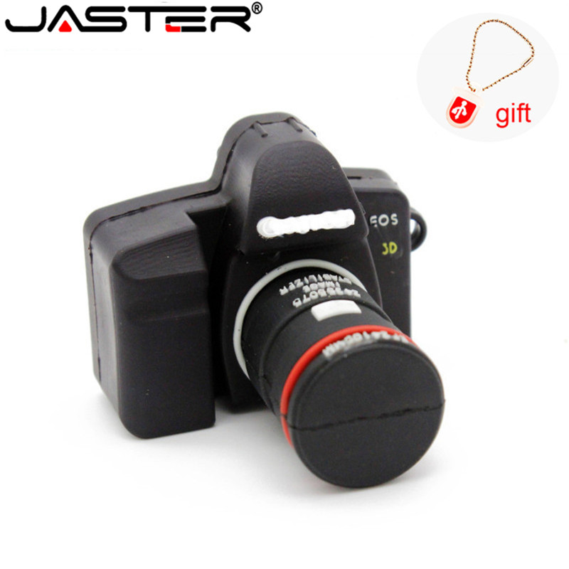JASTER Camera Usb Flash Drive Pen Drive 4GB 8GB 16GB 32GB USB Memory Stick Thumb Pendrive Pen Stick Disk Free Shipping