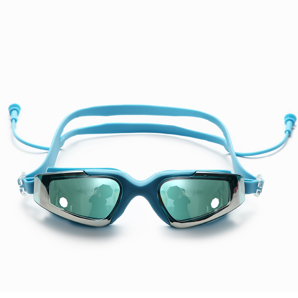 Premuroso Donne Degli Uomini Di Nuoto Occhiali Di Protezione Anti-appannamento Pieghevole Integrato Per Adulti Ultra Chiaro Occhiali Cool Occhiali Regolabile Di Modo Impermeabile Processi Di Tintura Meticolosi