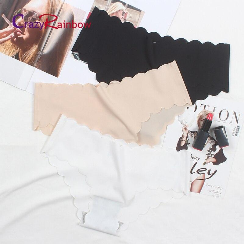 Buy Hot sale Original Ruffles Ultra-thin Women Seamless Traceless Sexy lingerie Underwear lace cotton Panties girl Briefs