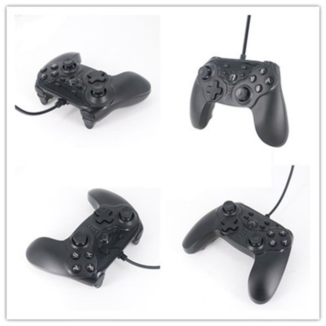 Double Motor Vibration USB Wired Controller Gamepad For Nintendo ...