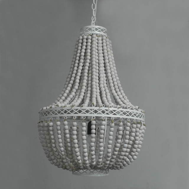 wondrous hanging wood large chandelier white with beaded on grey wire round australia stained bead