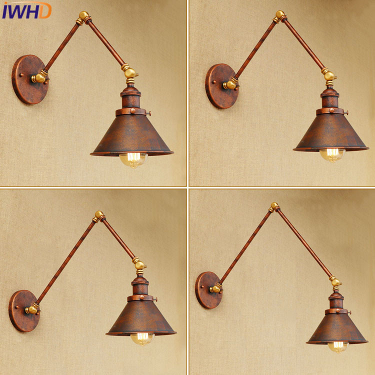 Adjustable Wall light Edison light bulb long arm wall lamp loft American country lighting retro industry Vintage iron Wall Lamps 2016 new style summer casual men shoes top brand fashion breathable flats nice leather soft shoes for men hot selling driving