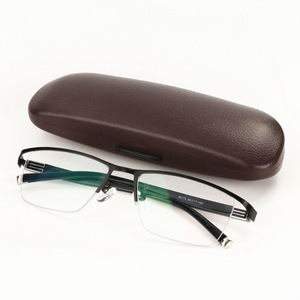 Image 4 - Mens Business Intelligent Discoloration Presbyopic Glasses Metal Alloy Plate Glasses Photochromic Presbyopic Myopia Glasses