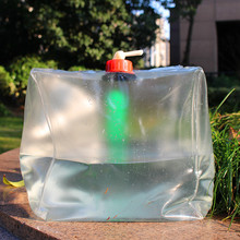 Outdoor 20L Eco-Freindly  Foldable Collapsible Water Carrier Container Water Bag For Camping